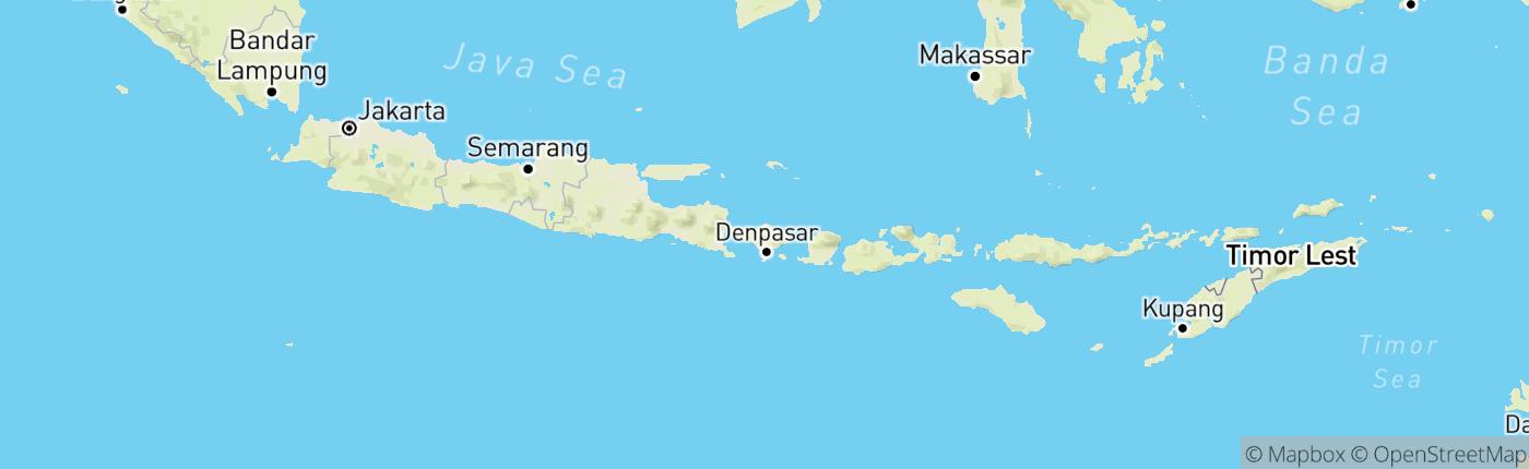 Mapa Indonézia
