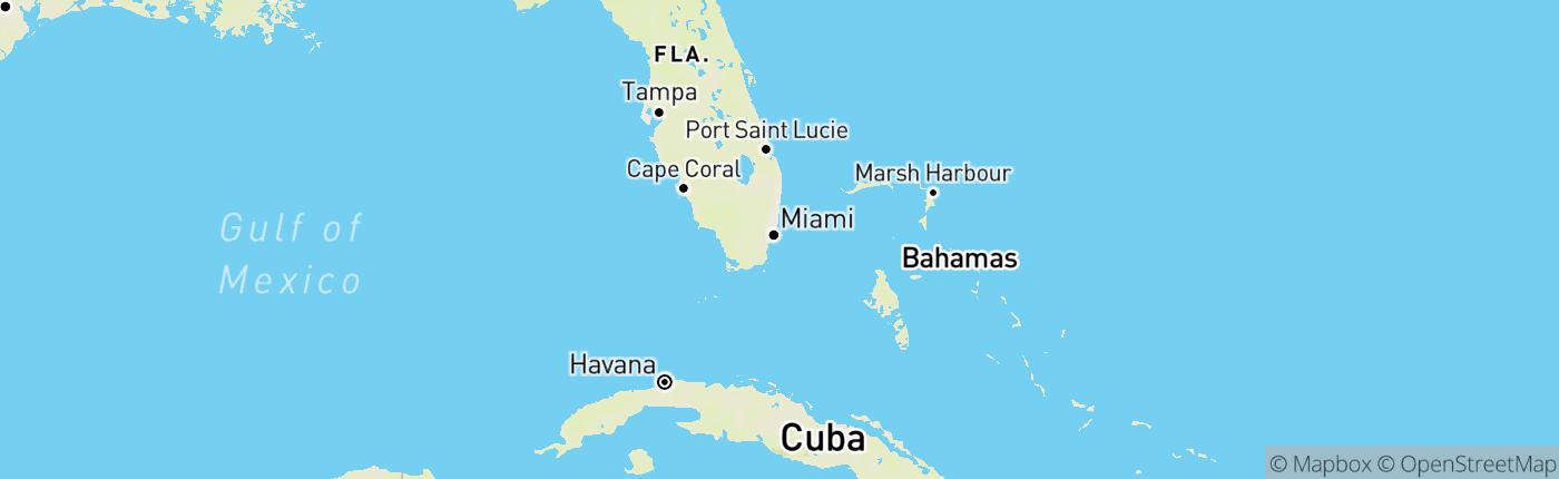 Mapa Spojené štáty americké