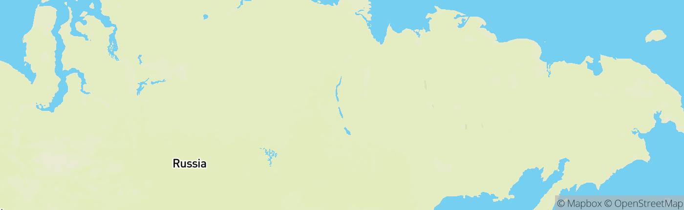 Mapa Россия