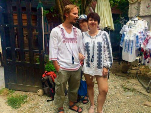 Kúpa košelí v Rumunsku