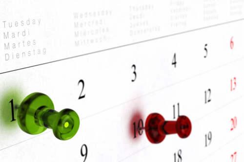 Kalendár voľna 2017