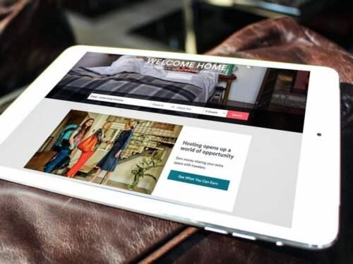 Airbnb na iPad