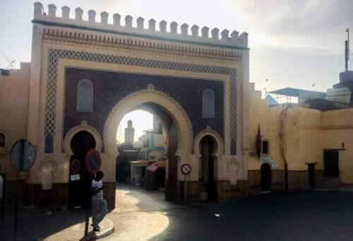 Modrá brána, Féz, Maroko