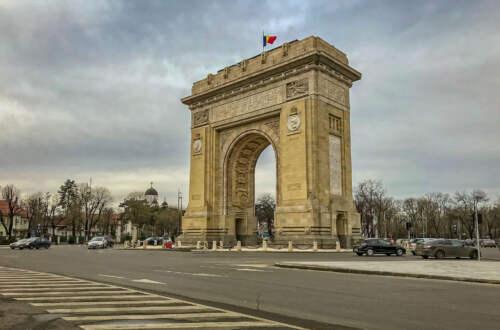 Víťazný oblúk v Bukurešti