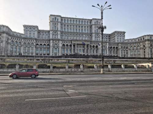 Palác ľudu v Bukurešti