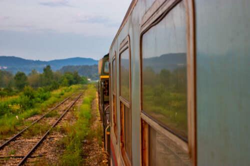 Vlakom Bosnou a Hercegovinou
