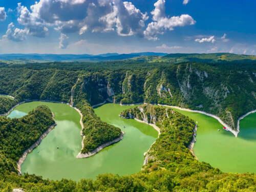 Sjeničko jezero, Serbia