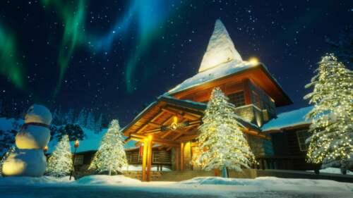 Vianočná dedina