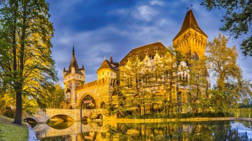 Hrad v Budapešti