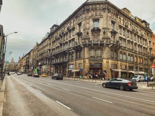 Budapešť v Januári