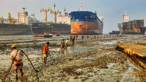 Prístav v Bangladéši