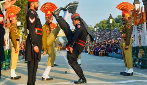 Pakistan - India border