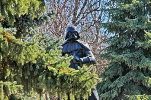 Socha Darth Vader