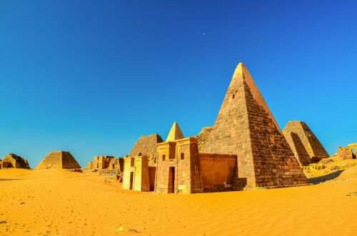 Pyramídy v Sudáne