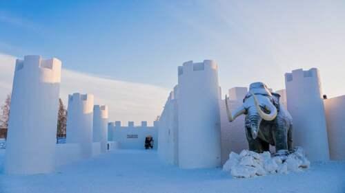 Snežný hrad