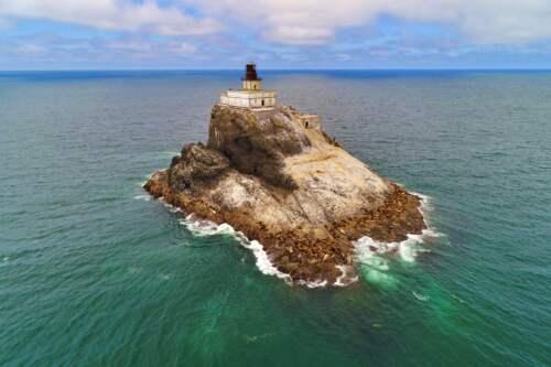 Maják na ostrove, USA