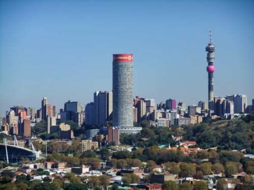 mrakodrap v Johannesburgu