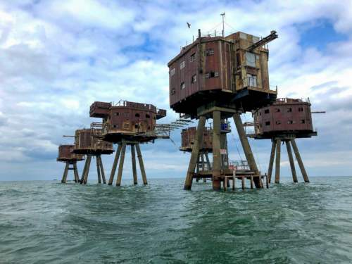 pevnosť v mori