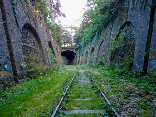 železničná trať, Paríž, Francúzsko