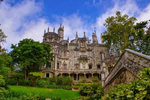 Palác, Portugalsko