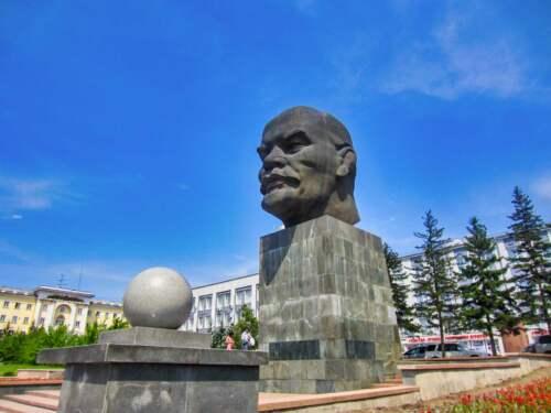Socha, Lenin, Ulan-Ude
