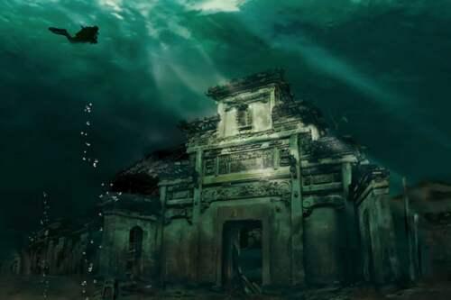 Čínska Atlantída