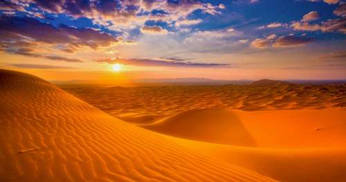 Púšť, Katar