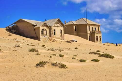 Mesto duchov, Namíbia