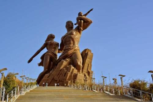 Monument znovuzrodenia Afriky