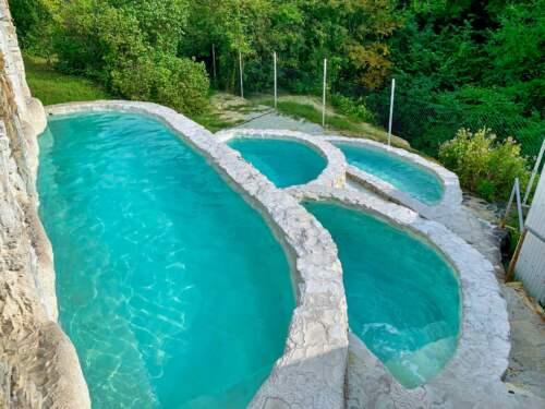 Bazény, Santovka