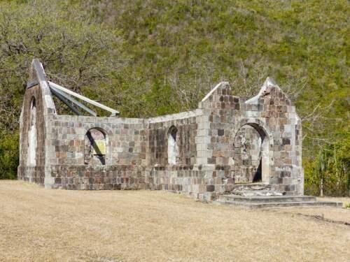 Kostol v Karibiku