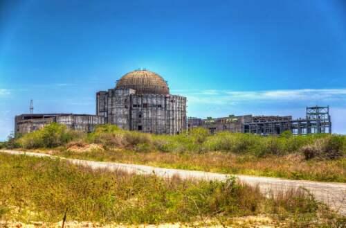 Opustená jadrová elektráreň na Kube