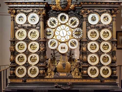 Astronomical clock, Besançon, France