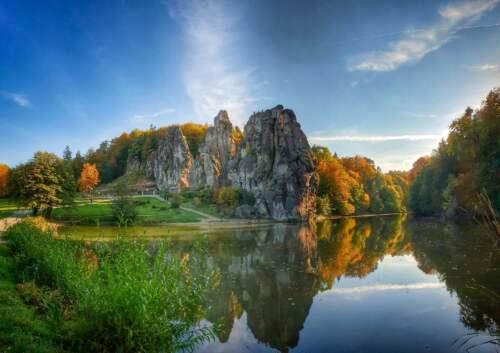 Pieskovcové skalné veže