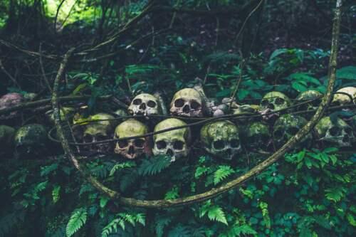 Tajomstvo kostier: Cintorín dediny Trunyan