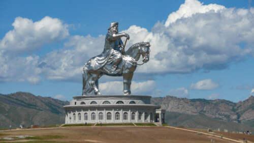 Chinggis Khaan Statue Complex, Mongolia