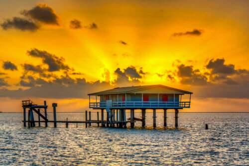 budovy na mori, Florida