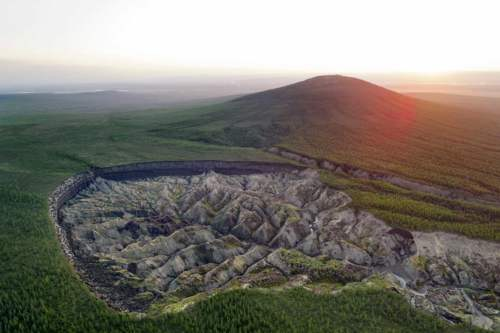 Kráter na Sibíri