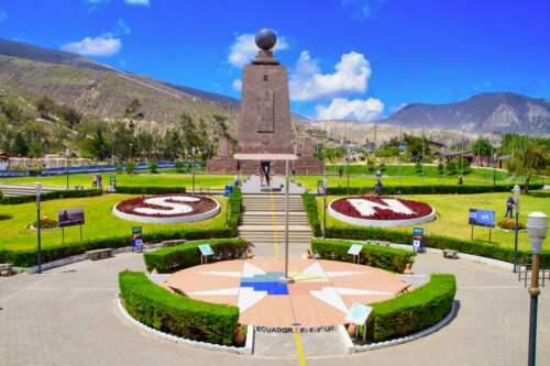 Stred sveta, Ekvádor