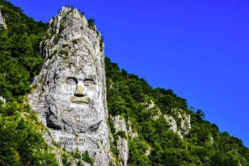 Rock Sculpture of Decebalus