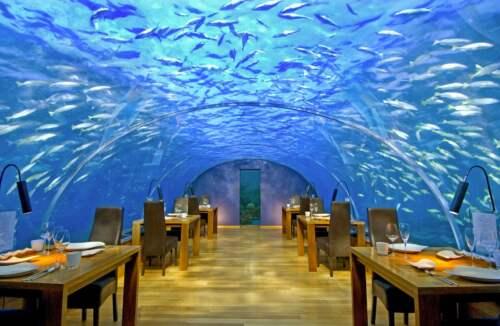 Podmorská reštaurácia Ithaa