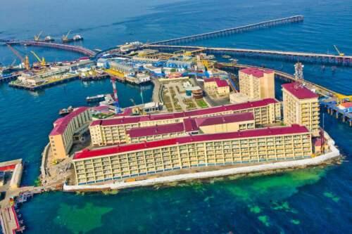 Ťažobná plošina, Azerbajdžan