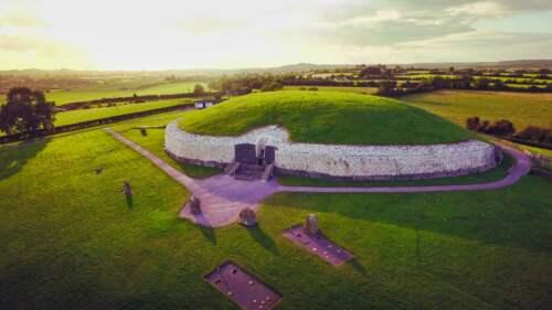 Staroveká mohyla v Írsku