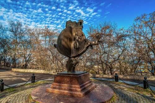 Monument to Orange, Odessa, Ukrajina