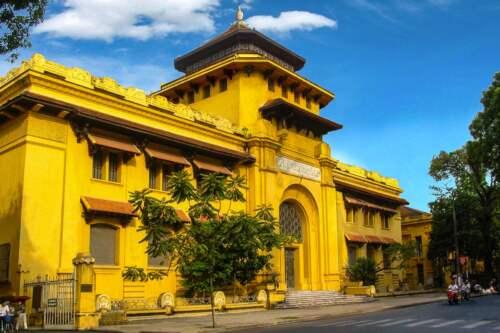 Múzeum, Hanoi, Vietnam