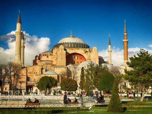 Kresťanský chrám, Istanbul, Turecko