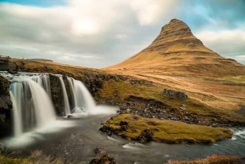 Chrámová hora, Island