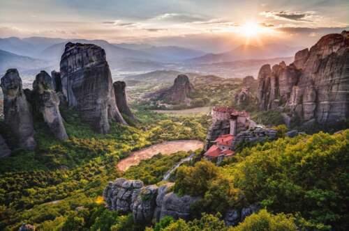 Grécke kláštory