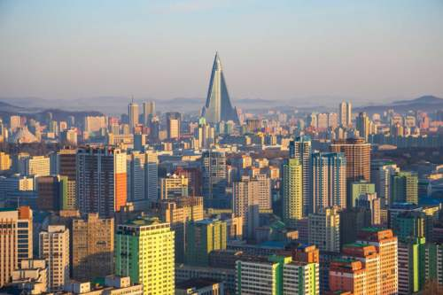 Pyramída v Pchjongjangu