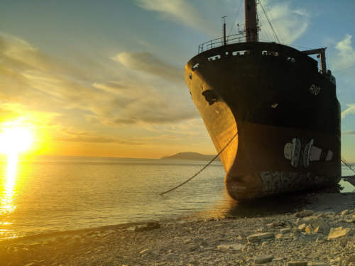 Vrak lode Rio, Čierne more